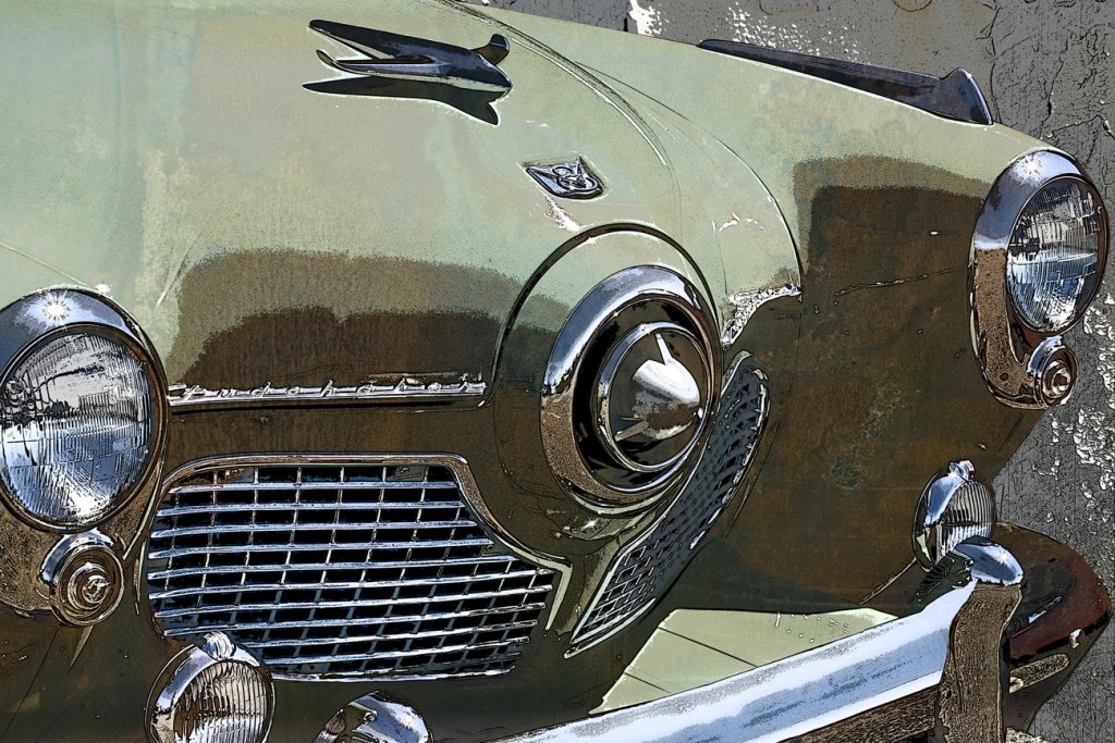 Studebaker front grill