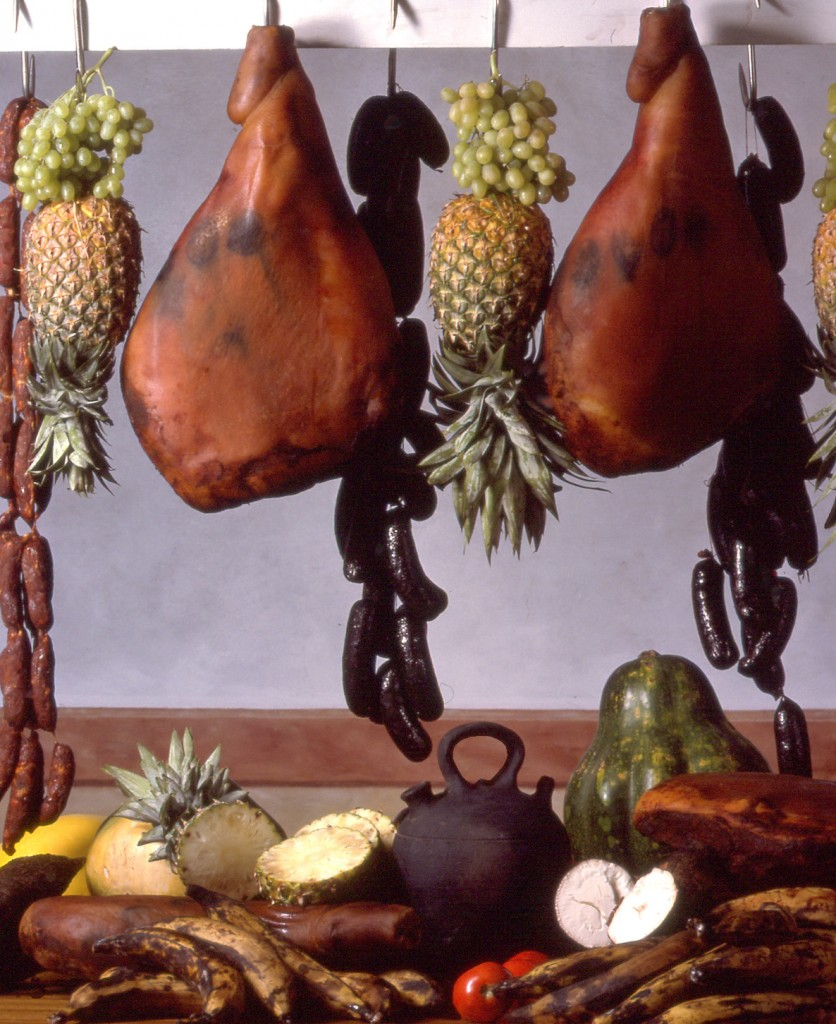 Serrano Hams and Pineapples (Bodega)