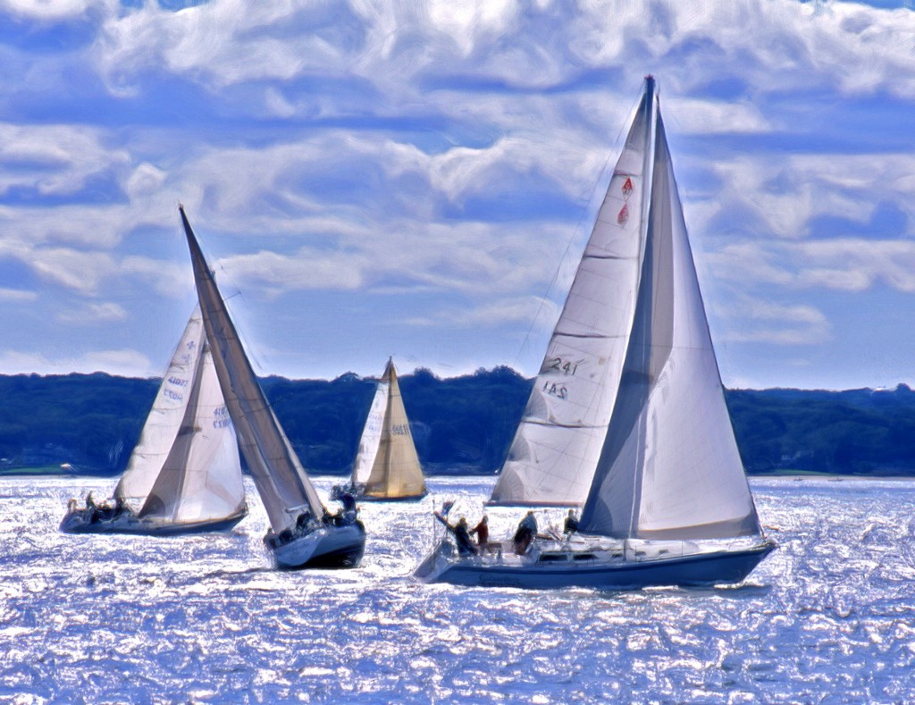 Regatta; Huntington Harbor, New York