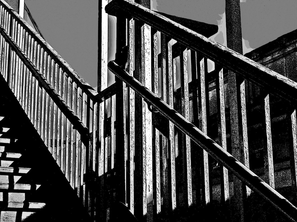 Mt. Hope station bannister
